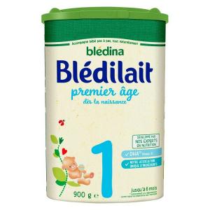 Sữa bột Blédina Blédilait số 1 của Pháp cho trẻ từ 0 – 6 tháng hộp 900g