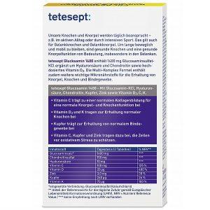 Viên uống bổ xương khớp Tetesept: Glucosamin 1400 của Đức hộp 40 viên