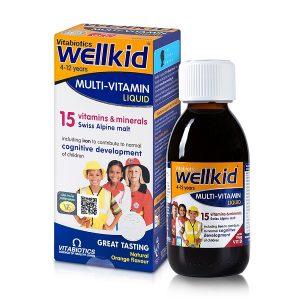 wellkid multi vitamin liquid