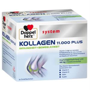 Collagen thủy phân Doppel herz System Kollagen 11.000 Plus của Đức, hộp 30 ống 25ml/ống