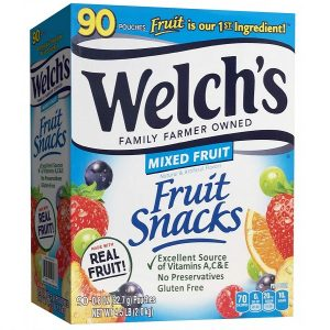 Kẹo dẻo trái cây Welch's Fruit Snacks Mixed Fruit của Mỹ