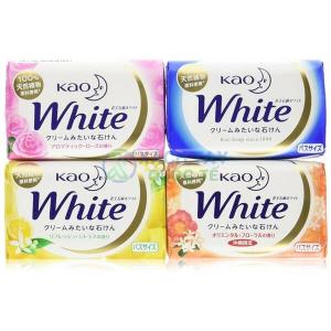 Bánh xà phòng tắm trắng da Kao White của Nhật Bản hộp 1 bánh xà phòng 130g