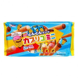 Bánh nhân kem ốc quế Glico cho bé nội địa Nhật
