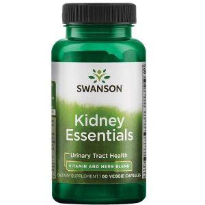 Viên bổ thận Swanson Kidney Essentials của Mỹ lọ 60 viên
