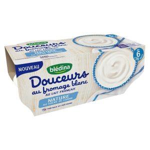 sữa chua Bledina Douceurs của Pháp cho bé từ 6 đến 36 tháng tuổi