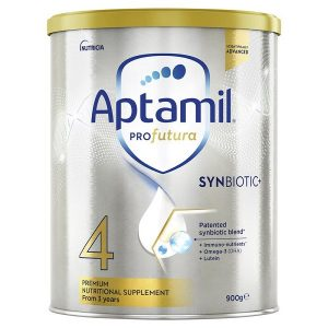 Sữa bột Aptamil Profutura Synbiotic số 4 của Úc cho trẻ từ 3 tuổi hộp 900g