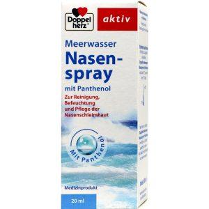 nước xịt mũi Doppelherz Meerwasser Nasenspray mith Panthenol