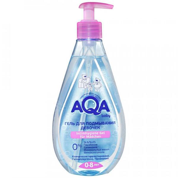 dung dịch vệ sinh bé gái AQA