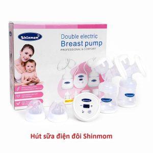 máy hút sữa điện đôi Shinmom