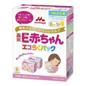 sữa Morinaga E Akachan của Nhật Bản