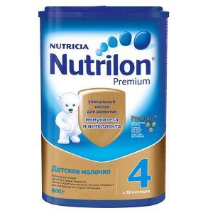 sữa Nutrilon số 4 nội địa Nga cho trẻ từ 18 tháng tuổi hộp 800g