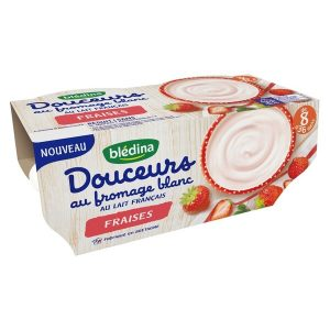sữa chua Bledina Douceurs của Pháp cho bé từ 8 đến 36 tháng tuổi