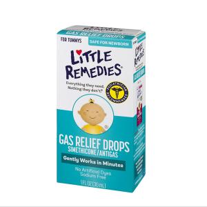 Siro tiêu ga Little Remedies của Mỹ 30ml cho bé từ 0 - 3 tuổi