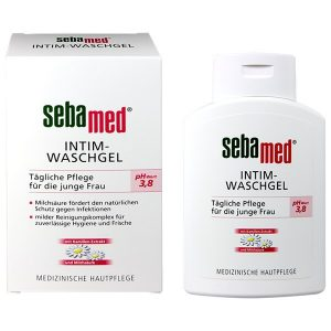 Dung dịch vệ sinh phụ nữ Sebamed pH 3.8 của Đức chai 200ml